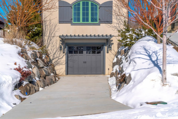 how to winterize garage door