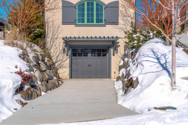 how to winterize garage door