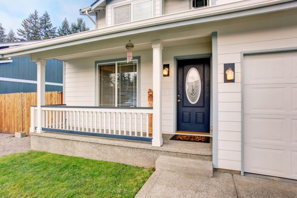 Should your garage door match your front door