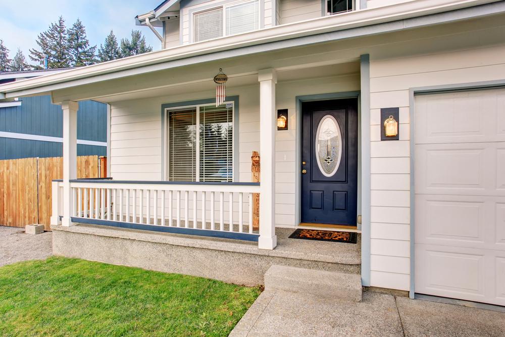 Should your garage door match your front door