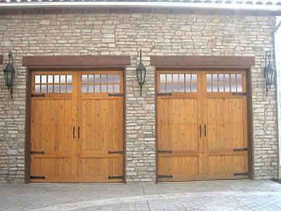 Custom Wood Garage Doors Denver American Door