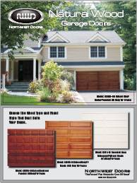 Northwest Wood Panel Doors Brochure