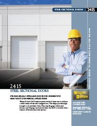 Wayne Dalton Steel Sectional Doors 2415 Brochure