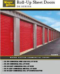 Wayne Dalton Roll-up Sheet Doors Brochure